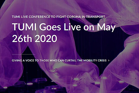 TUMI Live Conference to Fight Corona in Transport