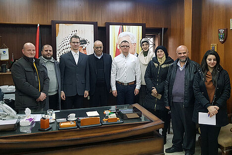 Digitalisation of the administration of Nablus
