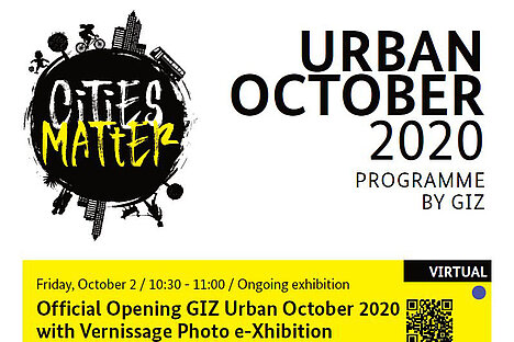 Cities Matter! Official Opening GIZ Urban October 2020